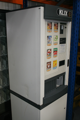 klix 400 vending machine