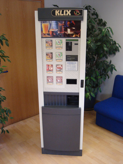 klix vending machine